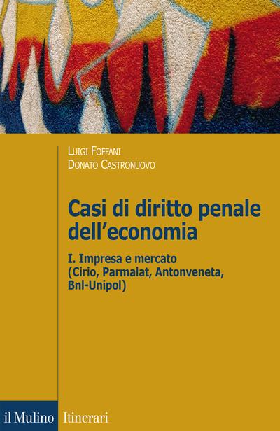 Cover Casi di diritto penale dell'economia