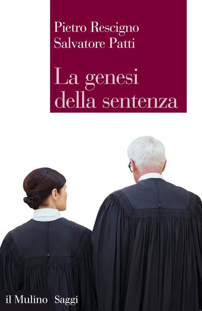Cover La genesi della sentenza