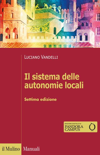 Cover Il sistema delle autonomie locali