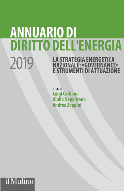 Cover Annuario di Diritto dell'energia 2019