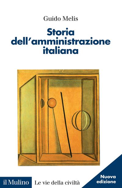Cover Storia dell'amministrazione italiana